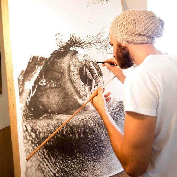 Τεράστια υπερρεαλιστικά έργα τέχνης με μολύβι από τον Jono Dry (3)