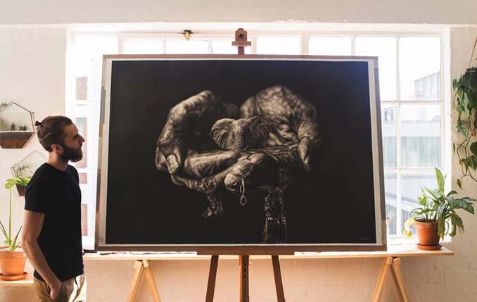 Τεράστια υπερρεαλιστικά έργα τέχνης με μολύβι από τον Jono Dry (9)