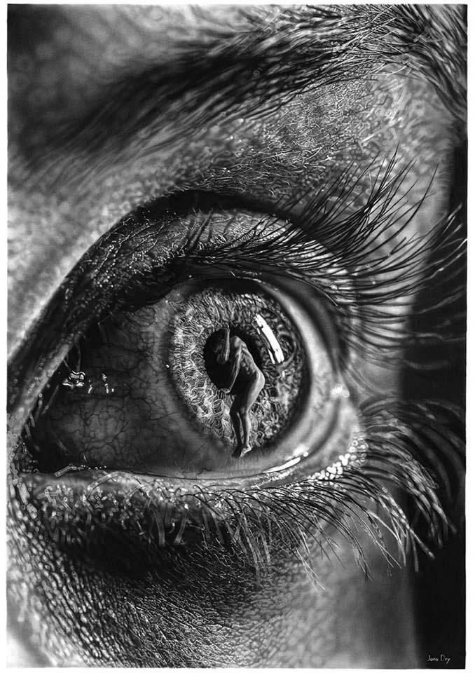 Τεράστια υπερρεαλιστικά έργα τέχνης με μολύβι από τον Jono Dry (14)