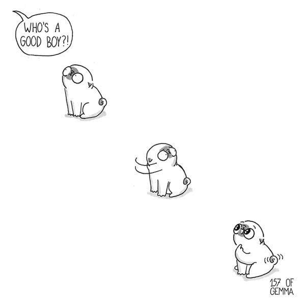 Χαριτωμένα χιουμοριστικά σκίτσα δείχνουν πως είναι να ζεις με έναν σκύλο (9)