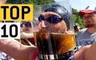 10 ασυνήθιστοι και τρελοί τρόποι για να πιεις μπύρα
