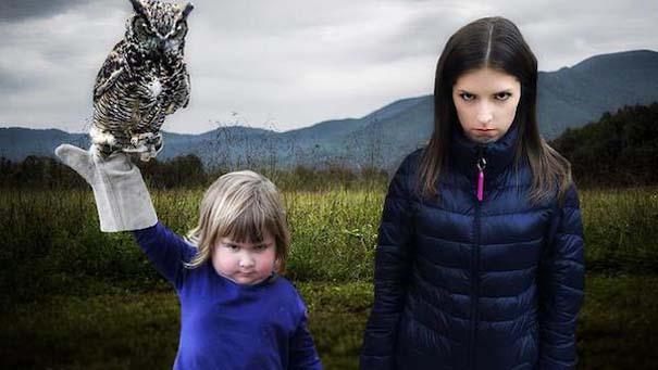 Η τρομακτική Anna Kendrick με την κουκουβάγια της προκάλεσαν ξεκαρδιστικό Photoshop Battle (6)