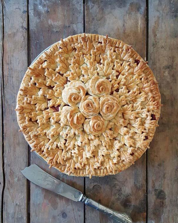 Φουρνάρισσα δείχνει τις απίστευτες πίτες της πριν και μετά το ψήσιμο (6)