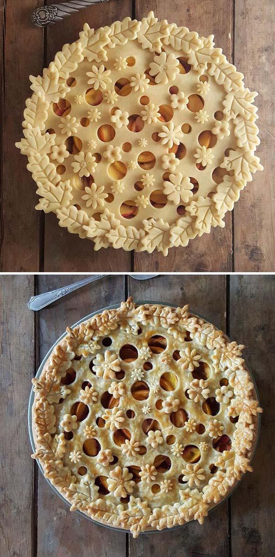 Φουρνάρισσα δείχνει τις απίστευτες πίτες της πριν και μετά το ψήσιμο (1)