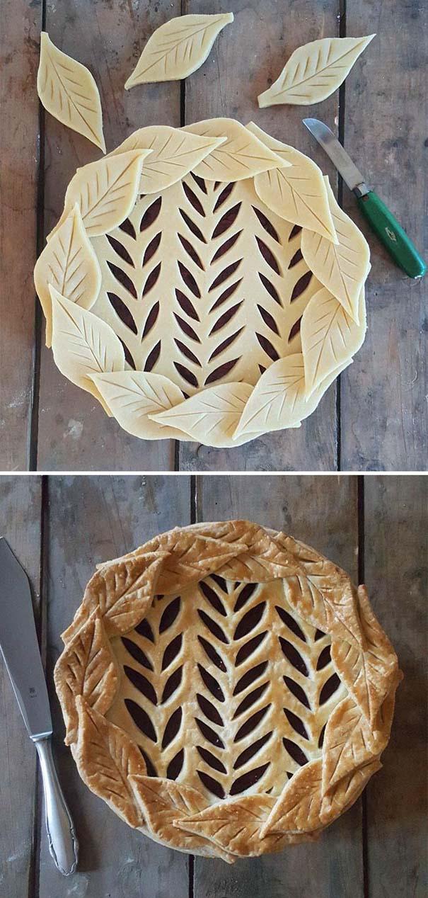 Φουρνάρισσα δείχνει τις απίστευτες πίτες της πριν και μετά το ψήσιμο (24)