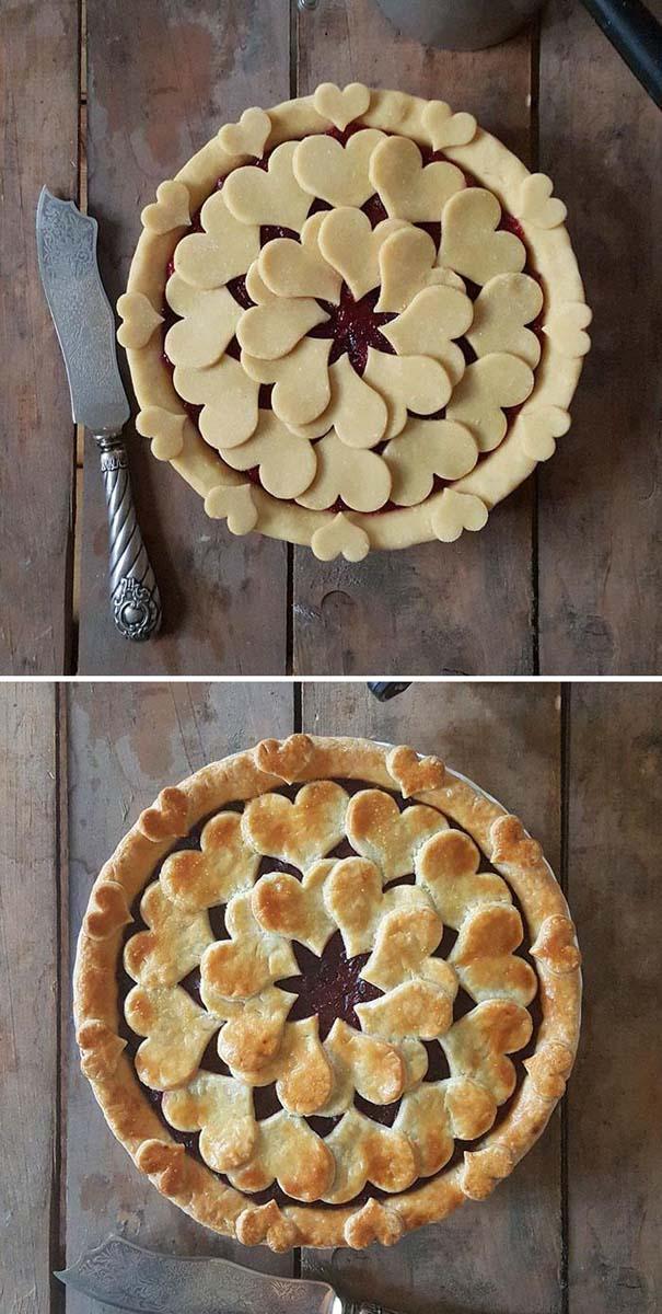Φουρνάρισσα δείχνει τις απίστευτες πίτες της πριν και μετά το ψήσιμο (25)