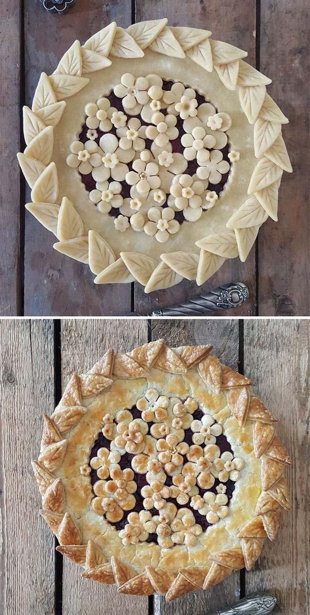 Φουρνάρισσα δείχνει τις απίστευτες πίτες της πριν και μετά το ψήσιμο (26)