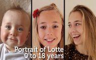 Από μωρό σε 18χρονη γυναίκα μέσα σε 5 λεπτά