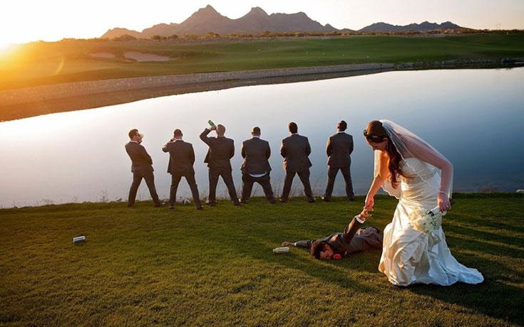 Αστείες φωτογραφίες γάμων #87 (1)