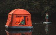 Camping στη μέση της λίμνης (7)