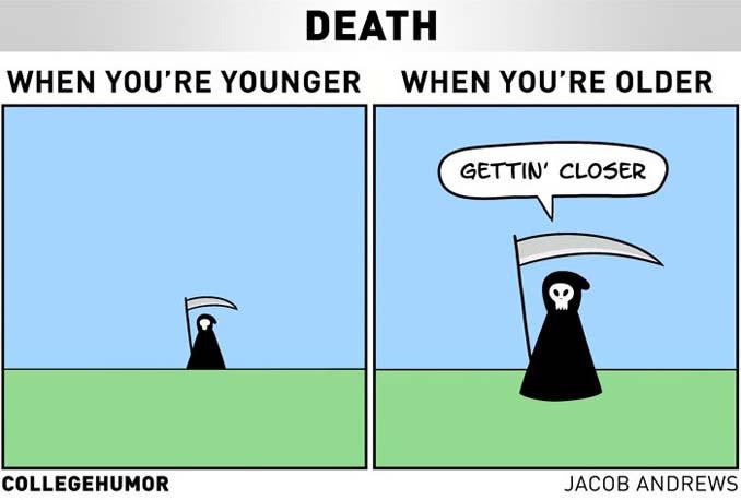 5 χιουμοριστικά ειλικρινή σκίτσα δείχνουν πως βλέπεις τον κόσμο μεγαλώνοντας (6)