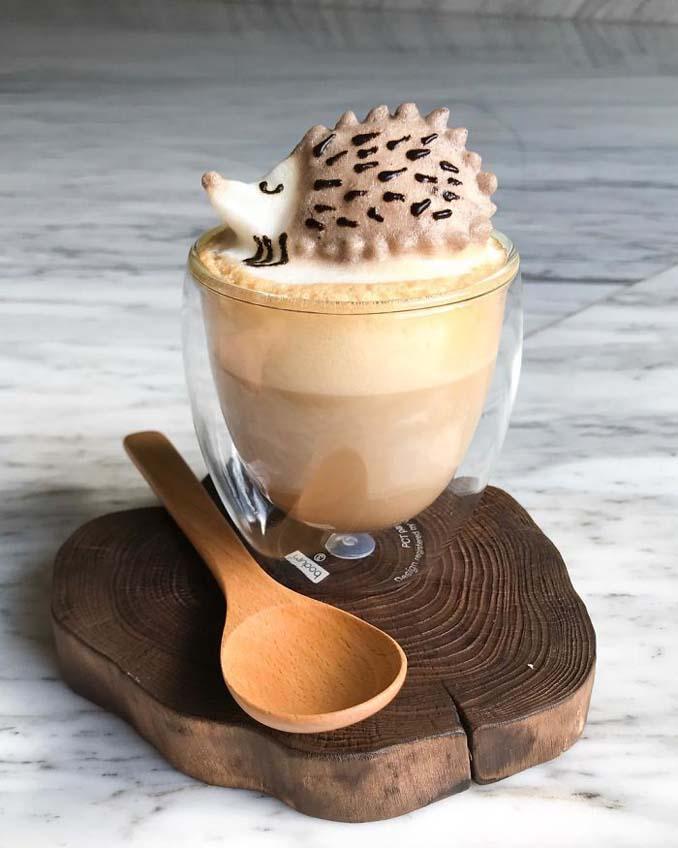 Εκπληκτική 3D Latte Art από μια 17χρονη (1)