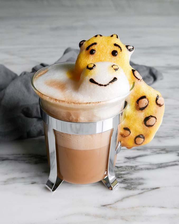 Εκπληκτική 3D Latte Art από μια 17χρονη (3)