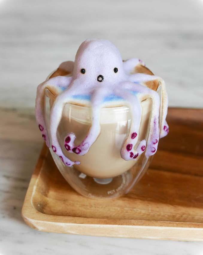 Εκπληκτική 3D Latte Art από μια 17χρονη (9)