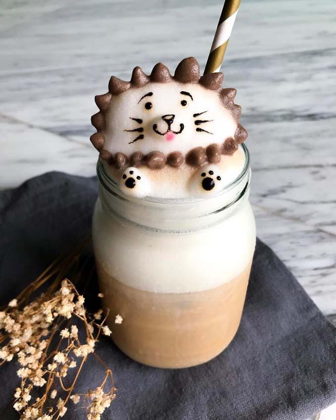 Εκπληκτική 3D Latte Art από μια 17χρονη (12)