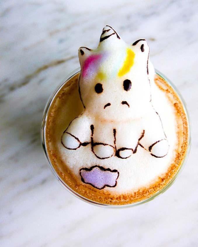 Εκπληκτική 3D Latte Art από μια 17χρονη (18)