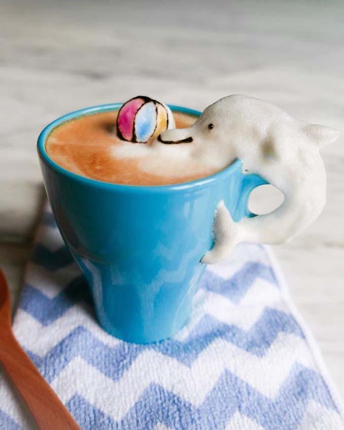 Εκπληκτική 3D Latte Art από μια 17χρονη (23)
