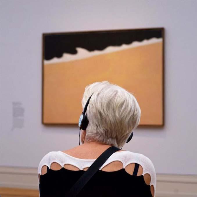 Φωτογράφος αφιερώνει αμέτρητες ώρες περιμένοντας επισκέπτες μουσείων που ταιριάζουν με τα εκθέματα (2)