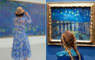 Φωτογράφος αφιερώνει αμέτρητες ώρες περιμένοντας επισκέπτες μουσείων που ταιριάζουν με τα εκθέματα (23)