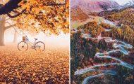 Φωτογράφος απαθανατίζει το Φθινόπωρο σε διάφορα σημεία του κόσμου