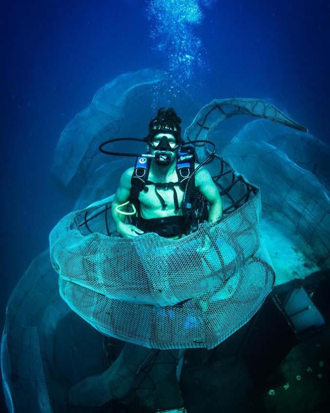 Αυτό το γιγαντιαίο χταπόδι θα βοηθήσει στη δημιουργία ενός τεχνητού κοραλλιογενή υφάλου (5)