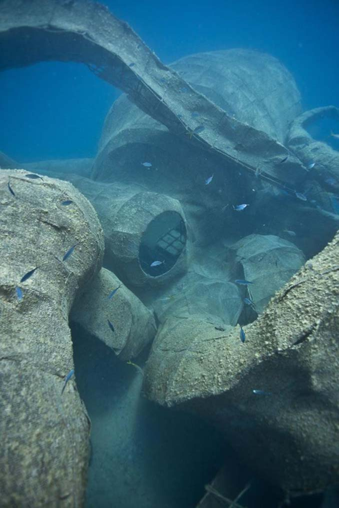 Αυτό το γιγαντιαίο χταπόδι θα βοηθήσει στη δημιουργία ενός τεχνητού κοραλλιογενή υφάλου (11)