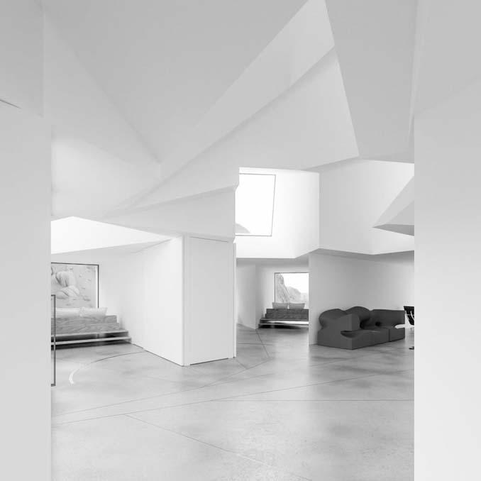 Joshua Tree: Ένα μοναδικό γεωμετρικό σπίτι φτιαγμένο από κοντέινερ (6)