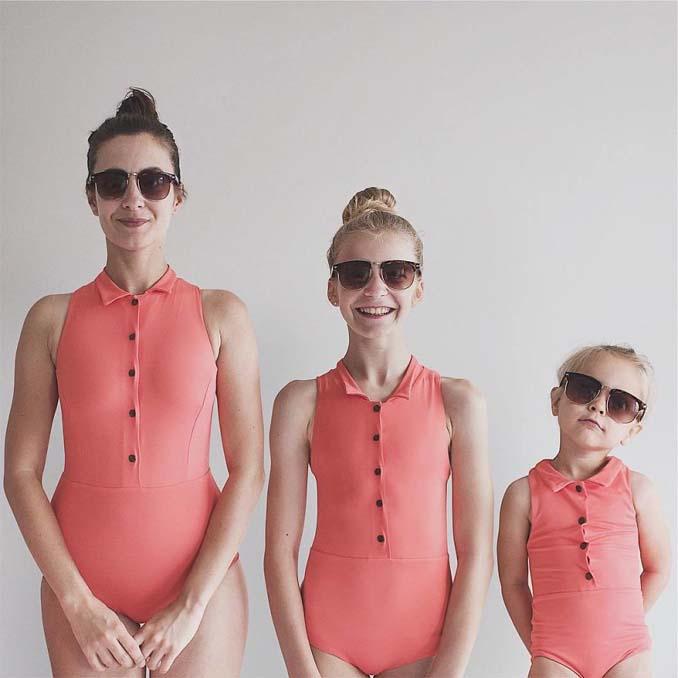 Μητέρα βγάζει απίθανες φωτογραφίες με τις δύο κόρες της φορώντας τα ίδια ρούχα (8)