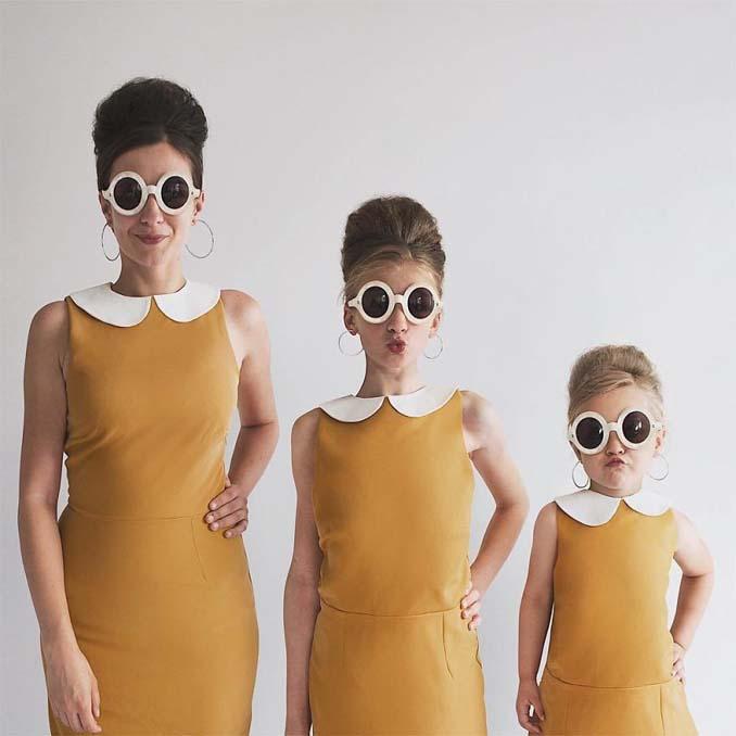 Μητέρα βγάζει απίθανες φωτογραφίες με τις δύο κόρες της φορώντας τα ίδια ρούχα (9)