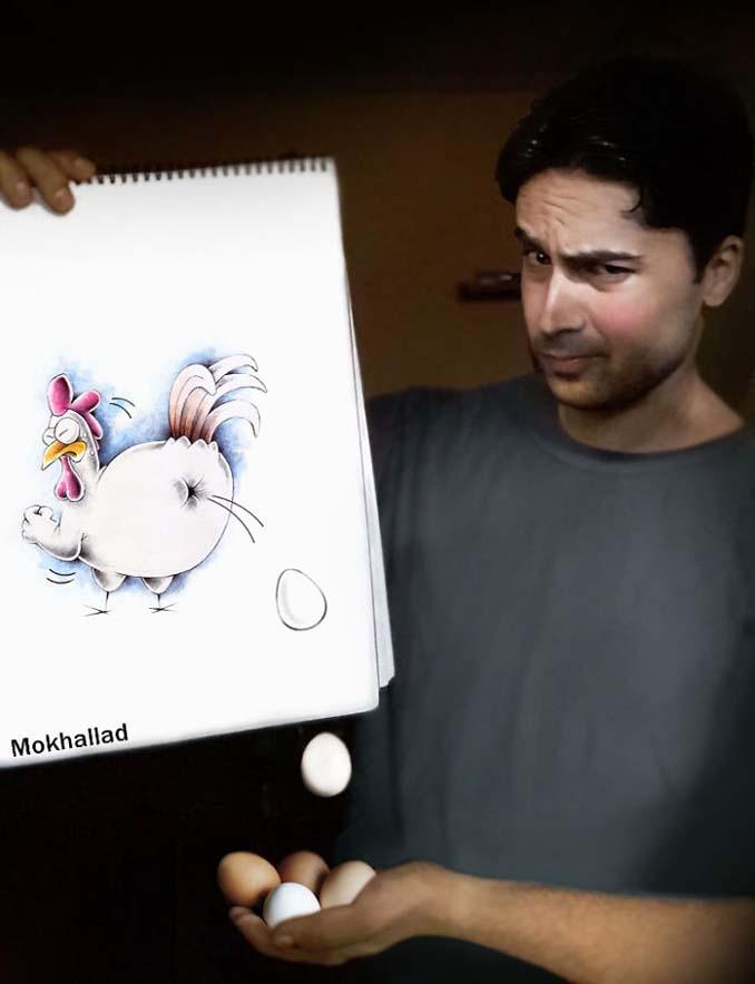 Όταν ένας φαρμακοποιός συνδυάζει την ζωγραφική με την πραγματικότητα (4)