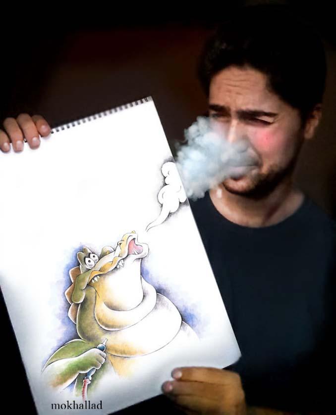 Όταν ένας φαρμακοποιός συνδυάζει την ζωγραφική με την πραγματικότητα (6)