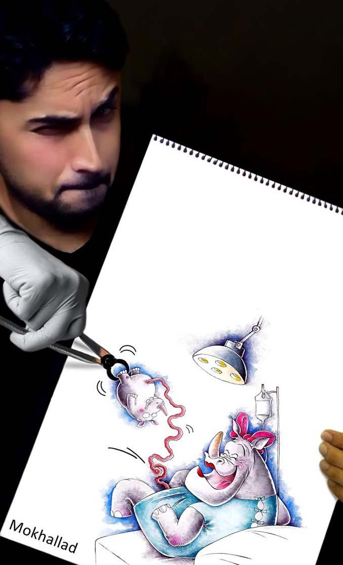 Όταν ένας φαρμακοποιός συνδυάζει την ζωγραφική με την πραγματικότητα (13)
