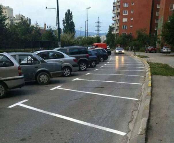 Όταν το παρκάρισμα ξεπερνάει το αυτονόητο (19)