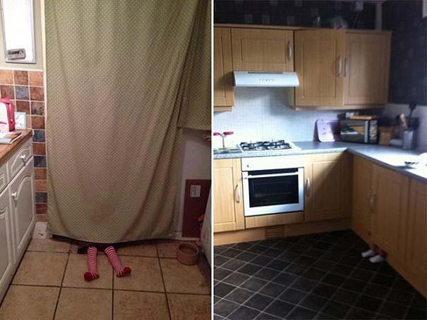 Παιδιά και κατοικίδια που παίζουν κρυφτό με ξεκαρδιστικό τρόπο (4)