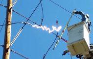 Παρολίγον σοκαριστικό ατύχημα με τεχνικό γραμμών ηλεκτρικής ενέργειας