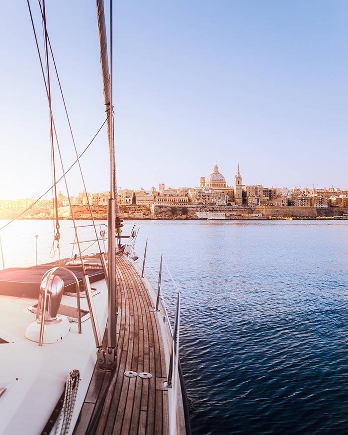 Φτάνοντας στην όμορφη Βαλέτα της Μάλτας | Φωτογραφία της ημέρας