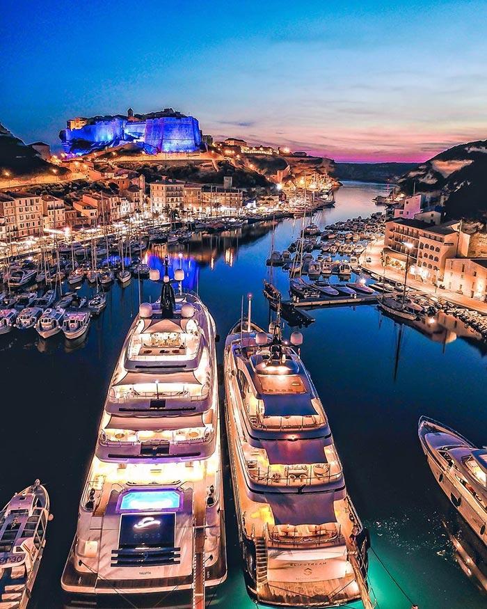 Port de Bonifacio, Κορσική | Φωτογραφία της ημέρας