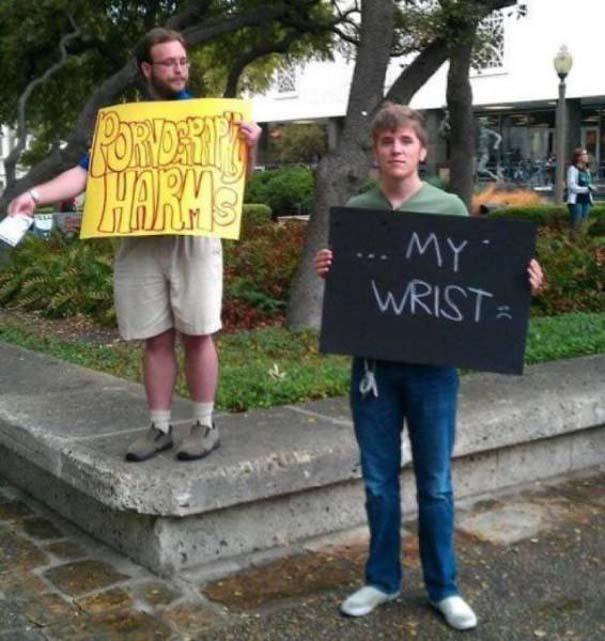 27 τύποι που τρόλαραν διαδηλωτές με ξεκαρδιστικό τρόπο (14)