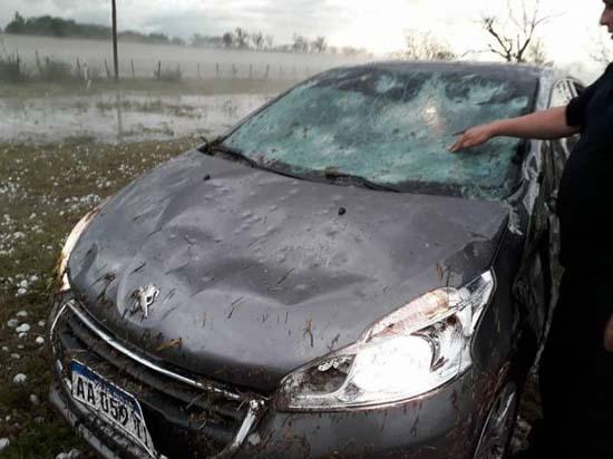 Χαλαζόπτωση στην Αργεντινή μοιάζει βγαλμένη από... ταινία καταστροφής! (5)