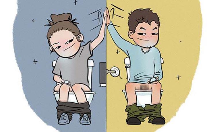 Χιουμοριστικά σκίτσα δείχνουν τι συμβαίνει όταν νιώσεις άνετα σε μια σχέση (1)