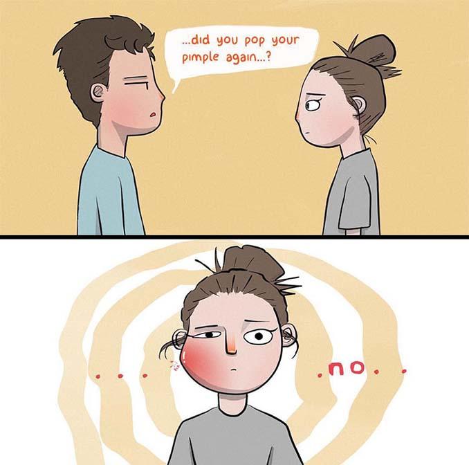 Χιουμοριστικά σκίτσα δείχνουν τι συμβαίνει όταν νιώσεις άνετα σε μια σχέση (6)