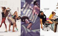 Καλλιτέχνης σκιτσογραφεί τη ζωή με τη γυναίκα του (18 νέα χιουμοριστικά comics) (19)