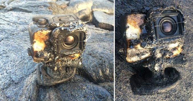 Κάμερα GoPro καλύπτεται από λάβα και παρόλα αυτά συνεχίζει να λειτουργεί (2)