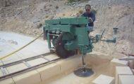 Δείτε πώς λειτουργεί ένα μηχάνημα κοπής πέτρας