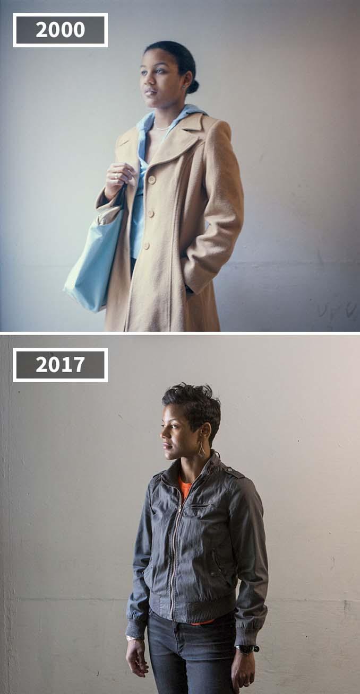 Φωτογράφισε τους φίλους της το 2000 και το 2017 (2)