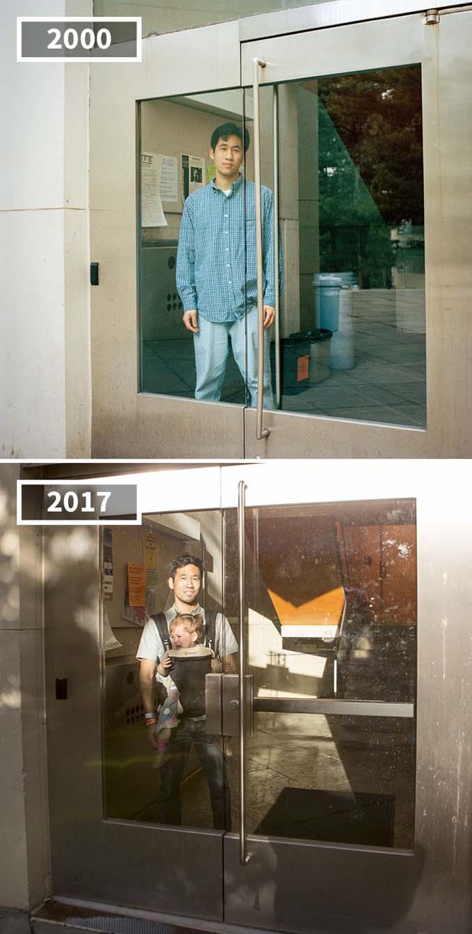 Φωτογράφισε τους φίλους της το 2000 και το 2017 (8)
