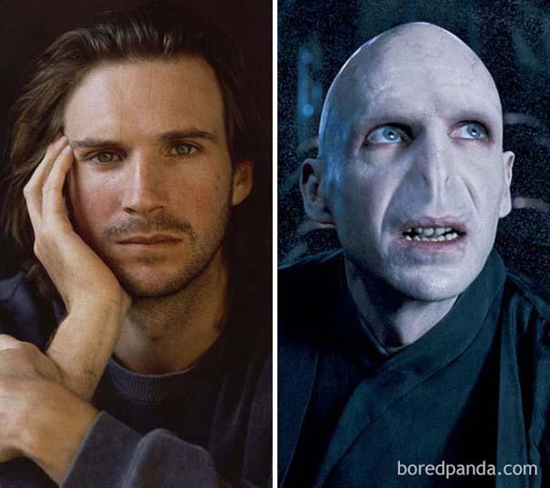 Ηθοποιοί πριν και μετά το μακιγιάζ ειδικών εφέ (3)