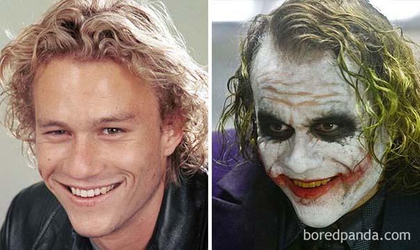 Ηθοποιοί πριν και μετά το μακιγιάζ ειδικών εφέ (4)