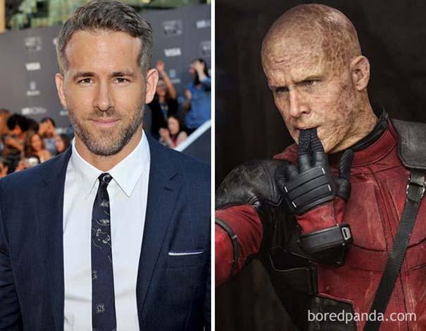 Ηθοποιοί πριν και μετά το μακιγιάζ ειδικών εφέ (9)