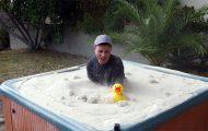 Τζακούζι με κινούμενη άμμο